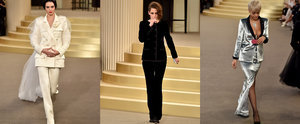 Kristen Stewart Just Opened the Chanel Couture Show in a Tux . . .