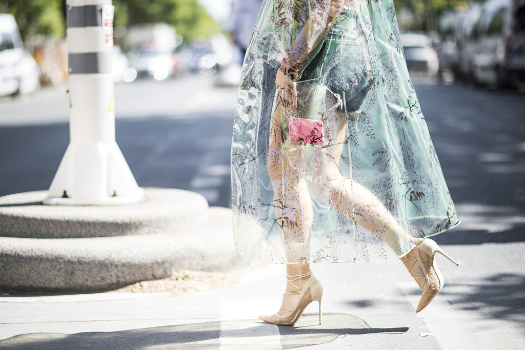 A sheer skirt can help you embrace your flair for the romantic.