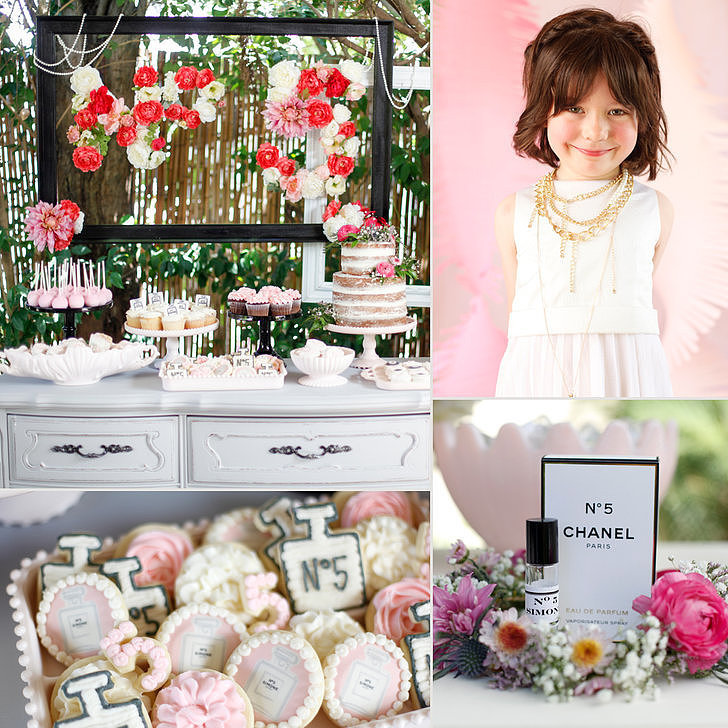 Chanel Inspired Birthday Party