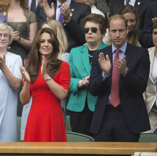 Prince William and Catherine at Wimbledon