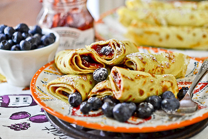 Peanut Butter And Jam Crepe Roll Recipes — Dishmaps