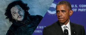 Game of Thrones: Not Even President Obama Can Bring Jon Snow Back to Life