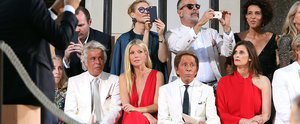 The Celebrities Steal the Spotlight on the Front Row