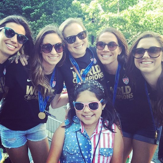 US Women's Soccer Team Ticker-Tape Parade NYC