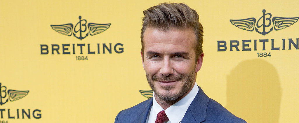 You May Never Recover From David Beckham's Birthday Message to Harper