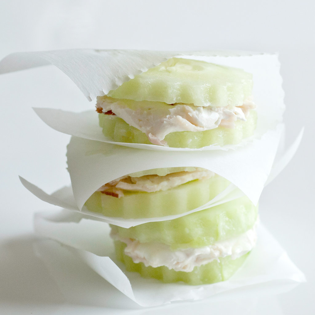 Cucumber Cream Cheese Stacks