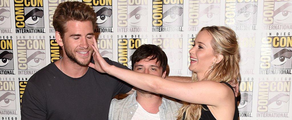 Jennifer, Josh, and Liam Have the Cutest Comic-Con Reunion!