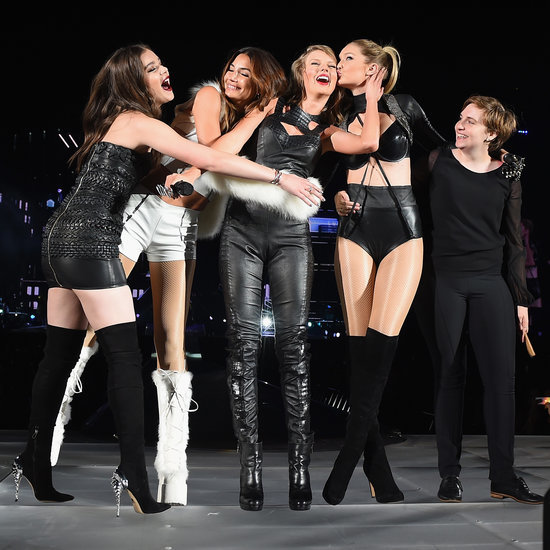 Stars at Taylor Swift's New Jersey Concert 2015   Photos