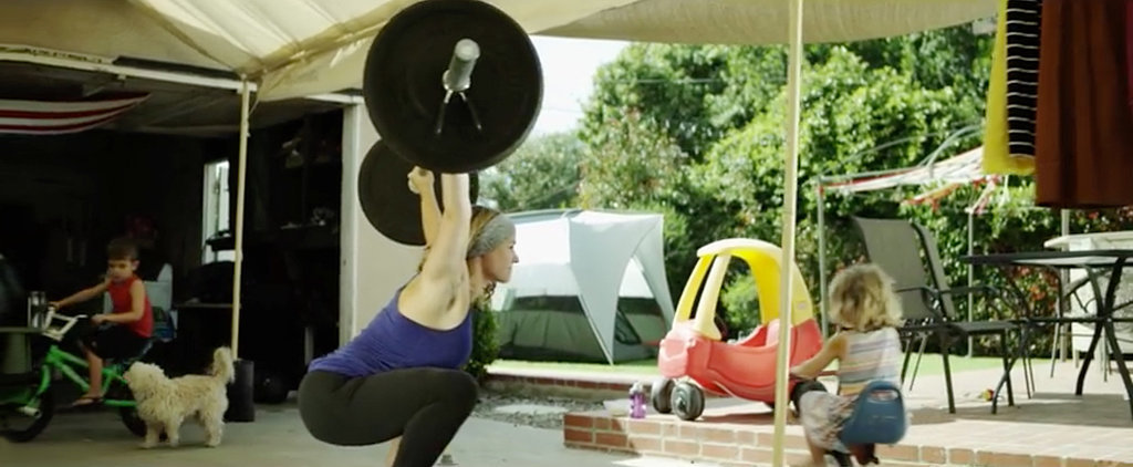 This Video Will Inspire Moms to Work Out No Matter What