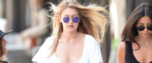 Gigi Hadid Will Convince You to Rock a Dress and Sneakers