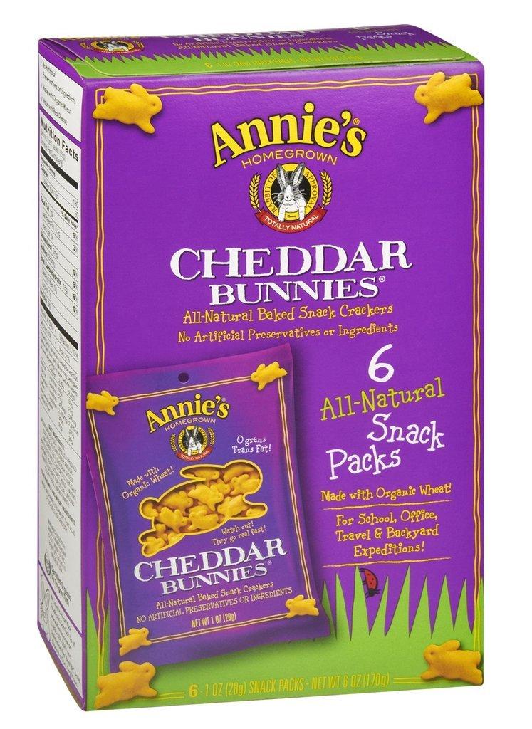 Annie's Homegrown Cheddar Bunnies