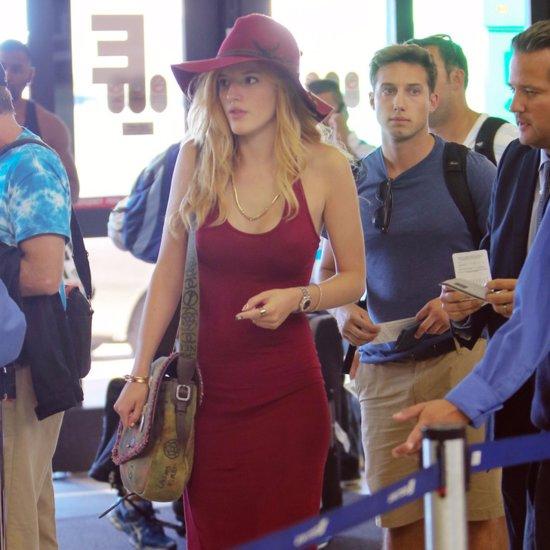 Bella Thorne Airport Dress