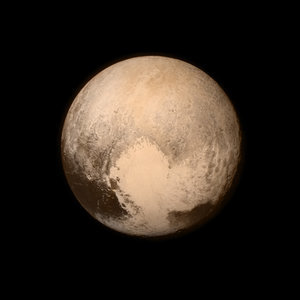 NASA First Pictures of Pluto