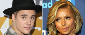 Kelly Ripa Responds to Justin Bieber's Sexy Crush Confession