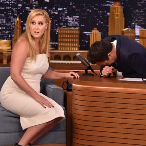 Amy Schumer Emotional Interview With Jimmy Fallon Video