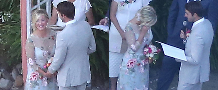 See Jennie Garth's Emotional Wedding Pictures!
