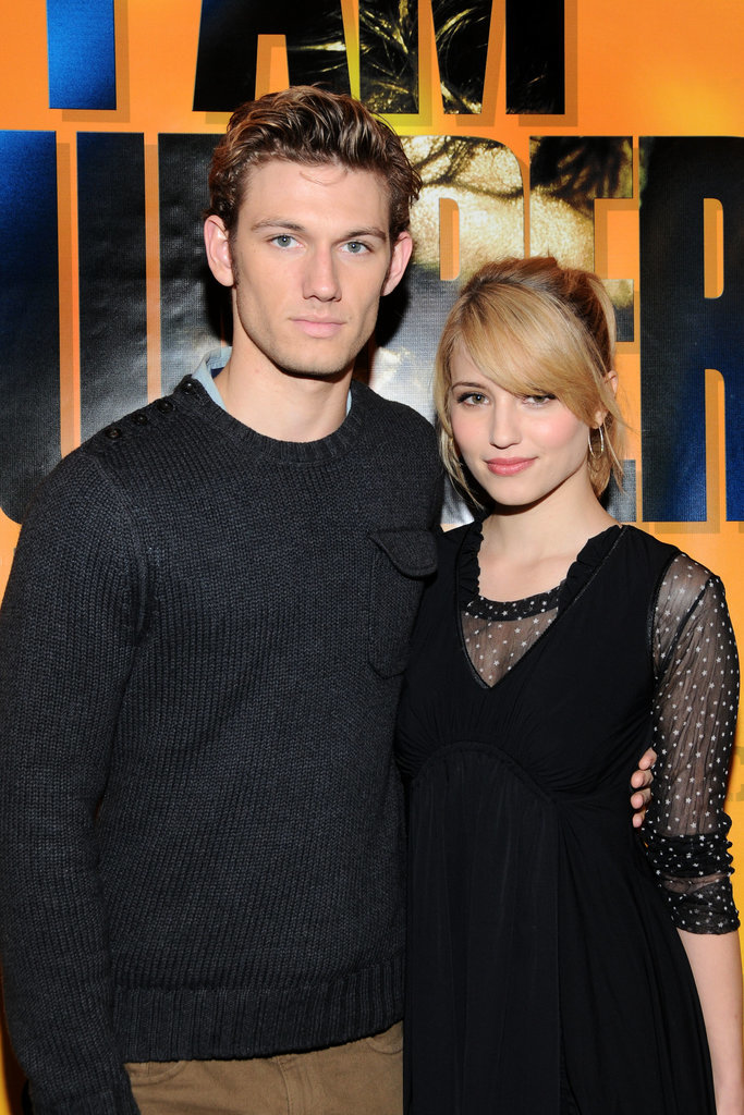 Alex's relationship with Dianna Agron began in 2011 — they starred together in I Am Number Four and dated for nearly a year.