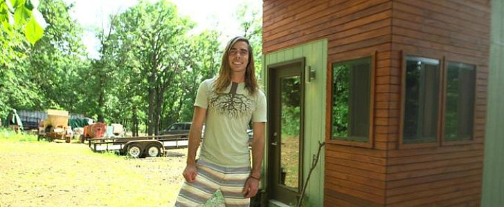 How a College Student's Tiny Home Bought Him Financial Freedom