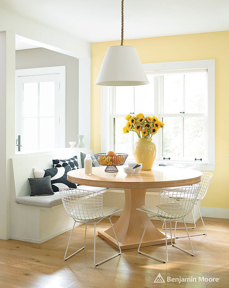 Hawthorne Yellow By Benjamin Moore  5 Paint Colors That. Kitchen Lighting Pinterest. Kitchen Tile Backsplash With Dark Cabinets. Kountry Kitchen Indianapolis. Kitchen Cart Wood Top. Kitchen Marble Colors. Kitchen Cabinets Ikea. Kitchenaid Towels. Kitchen Colour