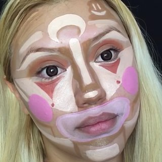 Clown Contouring: The Weirdly Flattering (and Empowering) New Beauty Trend