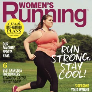 Women's Running Plus-Size Cover Model | August 2015