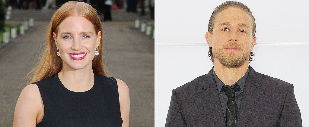 """Jessica Chastain Shares the """"Incredible"""" Gift Charlie Hunnam Gave Her"""
