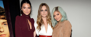 Cara Delevingne Brought Her Sexy, Stylish BFFs to Her Movie Screening