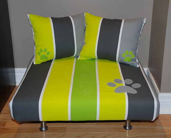 With a foam insert in the bed and bolsters, this modern cat bed ($169) might just be superior to your own bed.