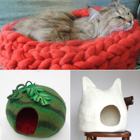 16 Stylish, Handmade Beds For Your Favorite Feline