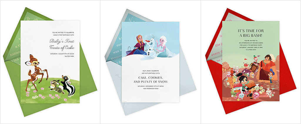 50+ Disney Invitations That'll Inspire You to Party Like a Princess