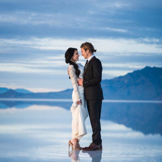 After Seeing Their Epic Wedding, You'll Think This Couple Can Walk on Water (Seriously!)