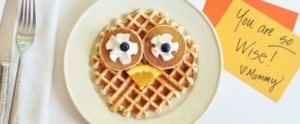 These Owl Waffles Are the Perfect Back to School Breakfast For Kiddos