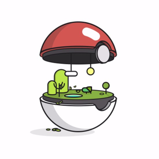 What the Insides of Pokémon Balls Look Like