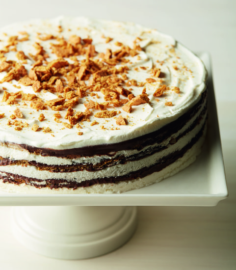 Enjoy a Slice of the Outdoors Year-Round With This S'mores Icebox Cake