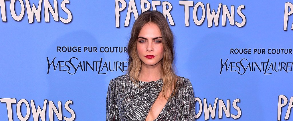 Cara Delevingne Is Slaying the Paper Towns Red Carpet