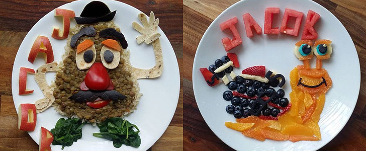 We Are Completely Mesmerized by the Way 1 Mom Is Making Healthy Food Kid-Friendly!