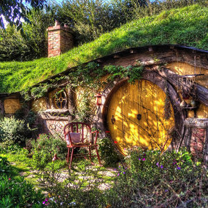 Real Hobbit House Project