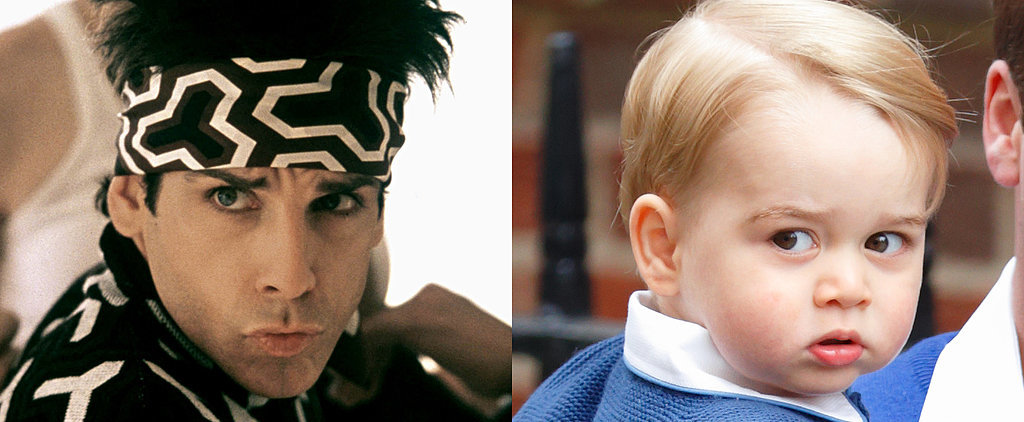 Let's Imagine Prince George Saying Zoolander Quotes