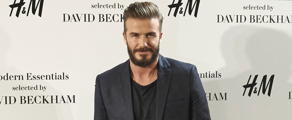 David Beckham Gets the Most Adorable Tattoo in Honor of His Daughter, Harper