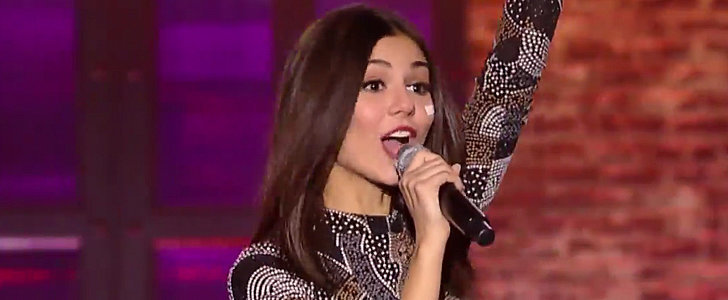 Victoria Justice Brings the Heat With Her Lip Sync Battle Performance
