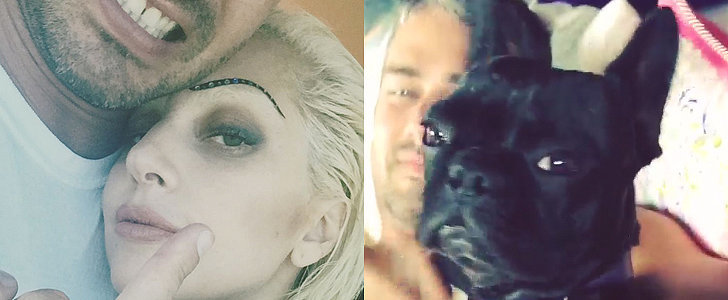 Lady Gaga and Taylor Kinney Had a Mini Photo Shoot Over the Weekend