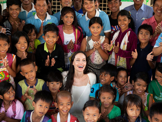 Angelina Jolie Pitt Makes an Emotional Return to Her Son Maddox's Home Country Cambodia