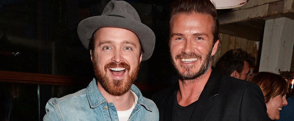 These Celebs Are as Excited About Meeting David Beckham as You Would Be