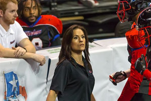 Jen Welter Is The First-Ever Female NFL Coach