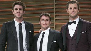 All Three Hemsworth Brothers Were Together Last Night & Girls Might Combust