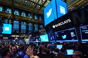 Twitter Revenue Tops $500 Million In Second Quarter, Shares Shoot Up