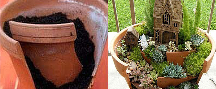 The Genius Flowerpot Trick You've Never Thought of Before