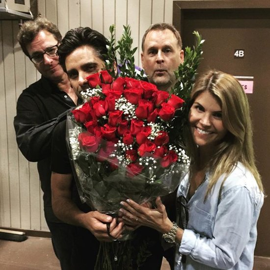 Lori Loughlin Birthday Fuller House Cast Pictures