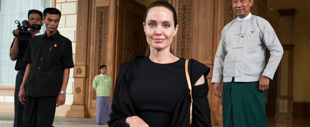 Angelina Jolie Is on a Humanitarian Service Trip in Myanmar