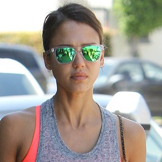 Jessica Alba's Healthy Habits Pictures